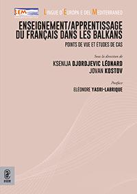 copertina 9791259941992 Enseignement/apprentissage du français dans les Balkans